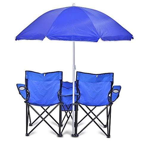 Folding Chairs With Umbrella by Folding Chair With Removable Umbrella Table Cooler