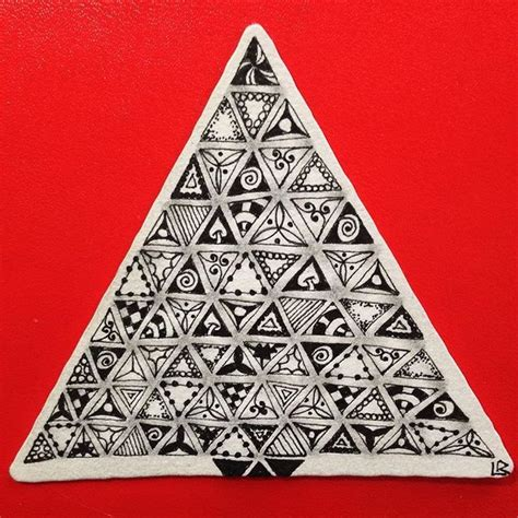 zentangle triangle pattern 17 best images about zentangle idee 235 n on pinterest