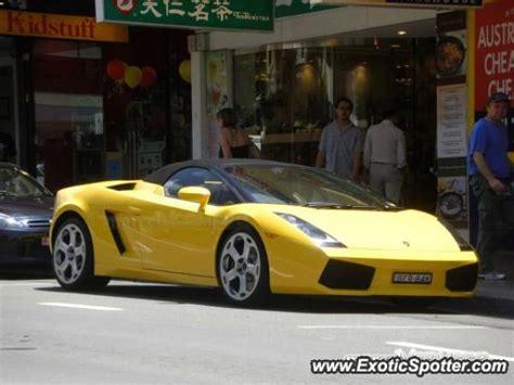 Lamborghini Australia Sydney Lamborghini Gallardo Spotted In Sydney Australia On 05 18