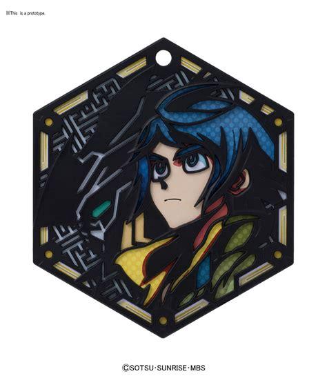 bandai hobby character stand plate mikazuki quot gundam iron