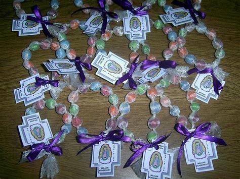 rosarios hechos como manualidades rosario de chicle manualidades pinterest