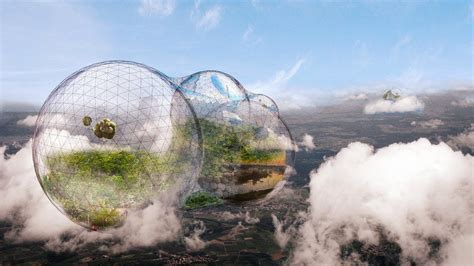 A Floating City would you live in a floating city in the sky with