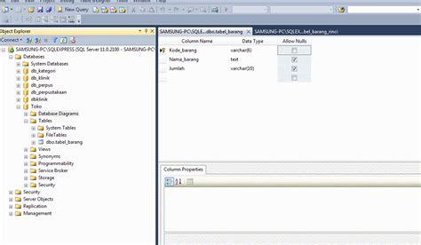 cara membuat query di sql server 2000 cara membuat database dan diagram relasi menggunakan sql