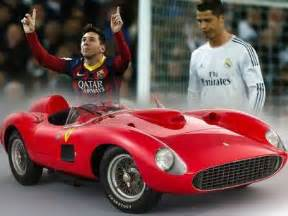 lionel messi new car messi outbids ronaldo for world s most expensive car