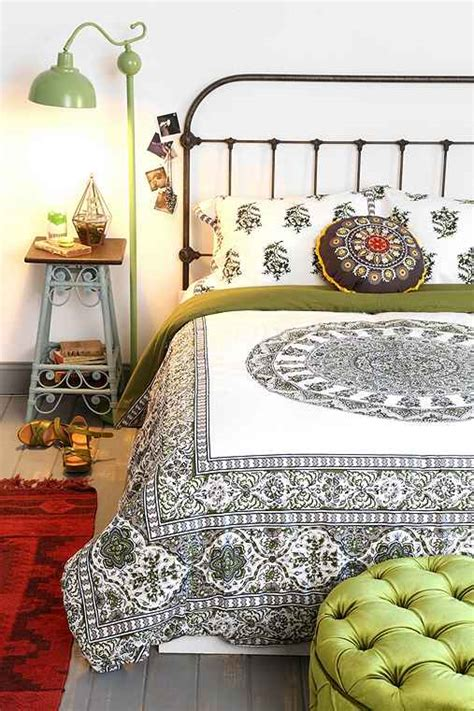 magical thinking bedding magical thinking temple medallion duvet from urban outfitters