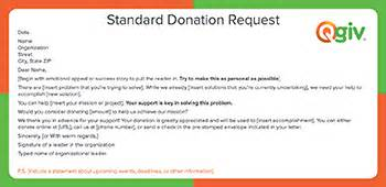 9 Awesome And Effective Fundraising Letter Templates Department Donation Request Letter Template