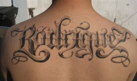 mixfashion significant of tattoo fonts