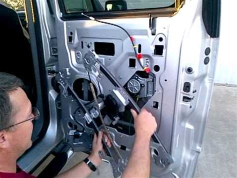 rear passenger window regulator replacement
