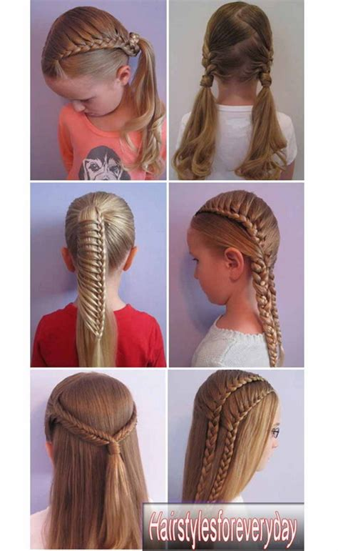 cute hairstyles for long hair for kids and for 8 year oldsfor short hair hairstyles 2015 for school