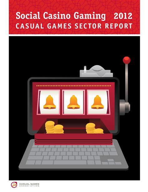 casino si鑒e social social casino gaming casual sector report 2012 by