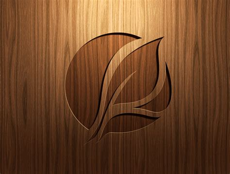 photoshop tutorial logo in wood carving on wood in photoshop