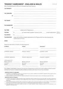 Free Tenancy Agreement Template Uk tenancy agreement england 8 wales f301 e a list lettings