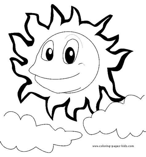 happy sun coloring page summer color page coloring pages for kids holiday