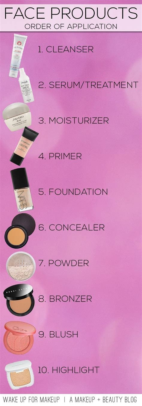 where do you put your makeup on 15 makeup charts that ll turn you into a makeup pro