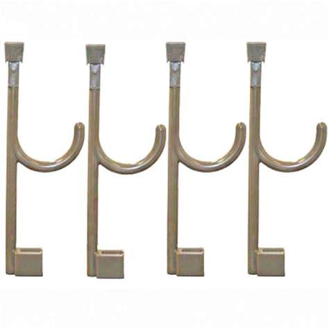global door controls closet hanger and 4 universal hooks