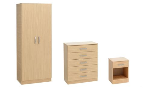 Bedroom Furniture Packages Uk Student Bronze Furniture Package