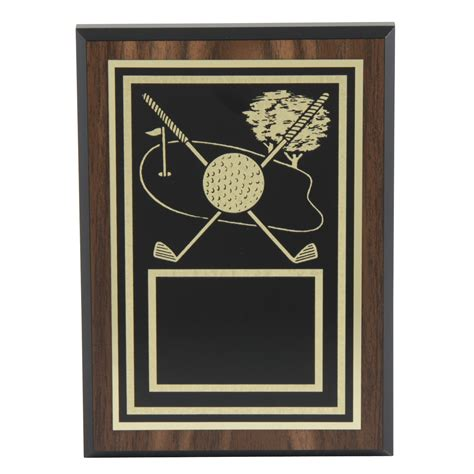chions golf club plaques engraved golf hole victory plaque