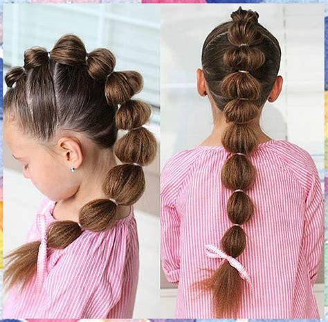 imagenes de varias niñas peinados faciles ninas peinados faciles y rapidos para