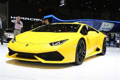 New 2015 Lamborghini New Yellow Lamborghini Huracan 2015 Car Hd Desktop