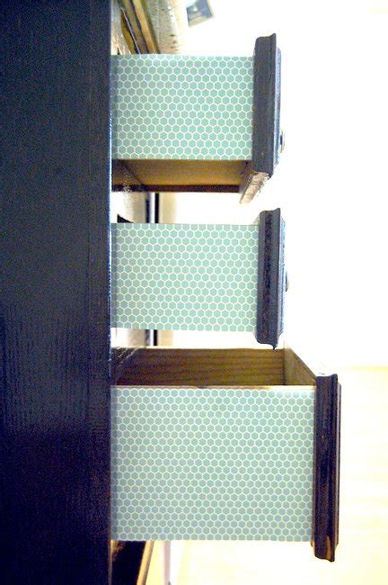 Scrapbook Paper Drawers by Trick Out Your Drawers With Scrapbook Paper Brit Co