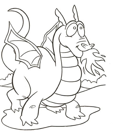 Dragon Color Page Az Coloring Pages Color Pages For