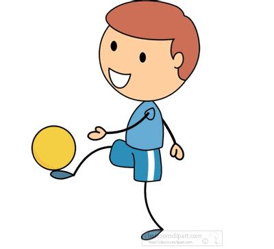 Kickers Animation sports animated clipart boy soccer f classroom clipart