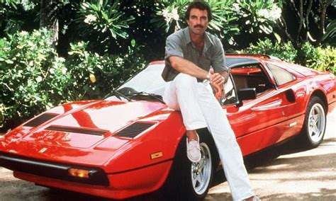 Thomas Magnum Ferrari by Ferrari 308 Driven By Tom Selleck In Magnum Pi At Auction