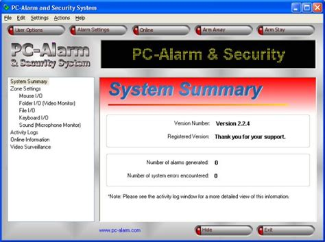 computer home security systems