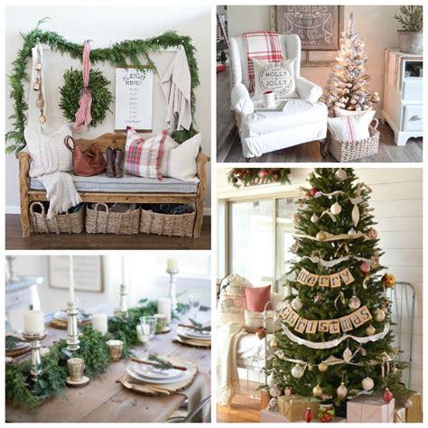 farmhouse christmas style series the happy housie