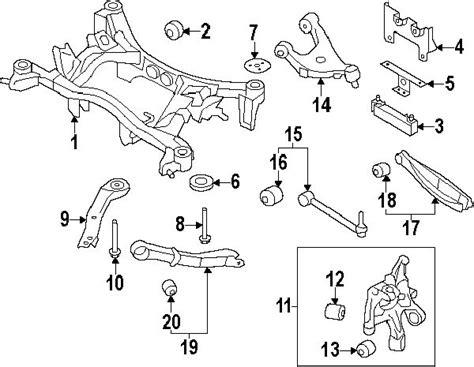 subaru forester rear suspension diagram subaru forester rear suspension problems all the best