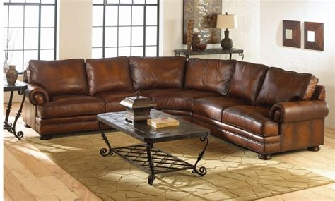 distressed sofa tables traditional distressed brown leather sofa in curvy