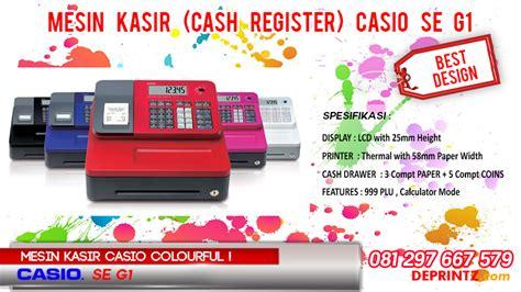 Mesin Kasir Merk Casio Sec450 deprintz