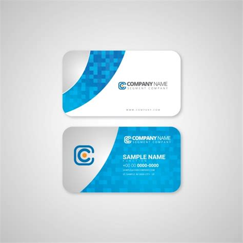 software company visiting card templates business card template design vector free