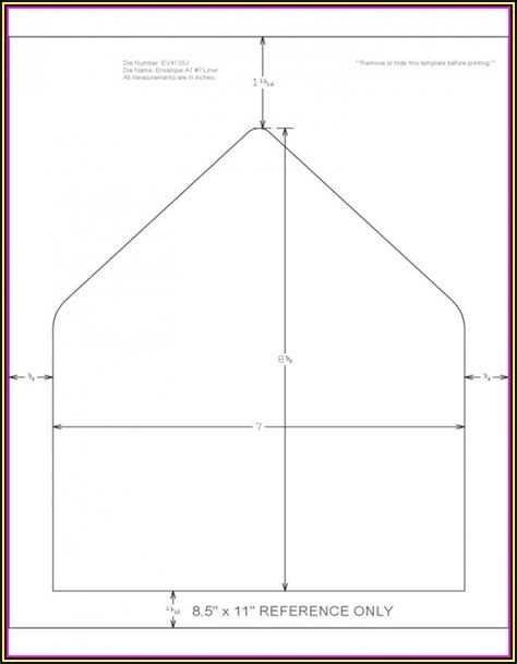 envelope printing template template  resume