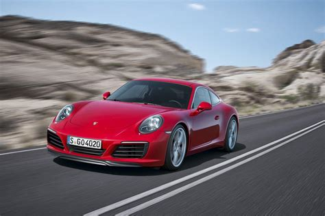 porsche carrera 2016 2016 porsche 911 revealed carrera s offers supercar