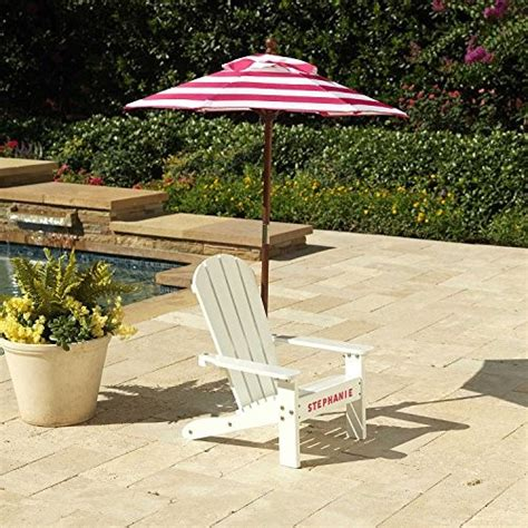 kidkraft adirondack chair with umbrella adirondack chair with umbrella pink and white jet