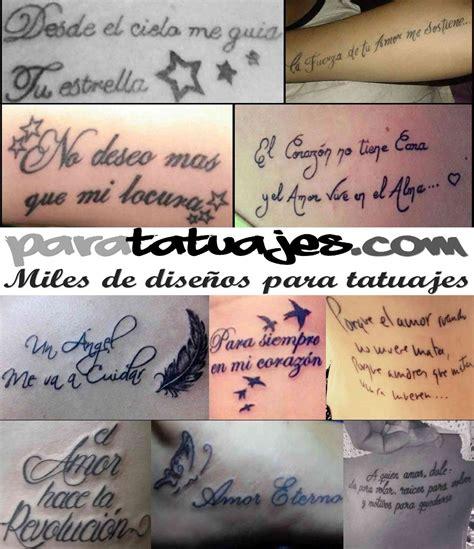 tatuajes de frases de amor frases de amor para tatuajes ideas y ejemplos para tatuajes