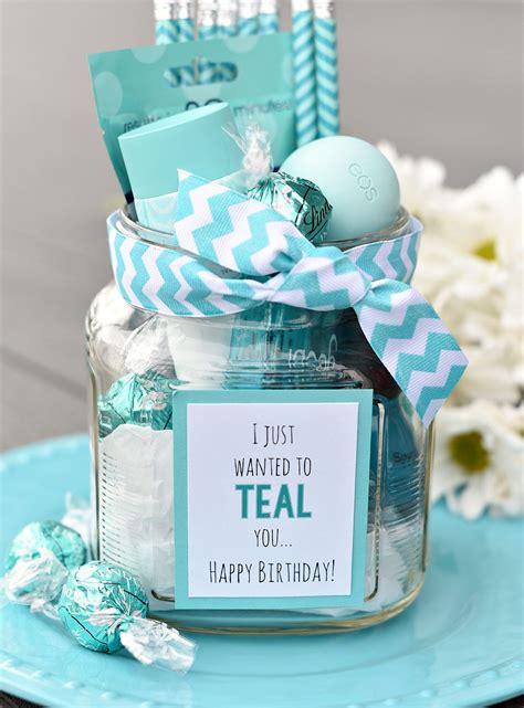 best present ideas teal birthday gift idea for friends confetti creative
