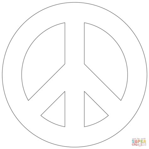 sign templates for pages peace sign mandala pages coloring pages