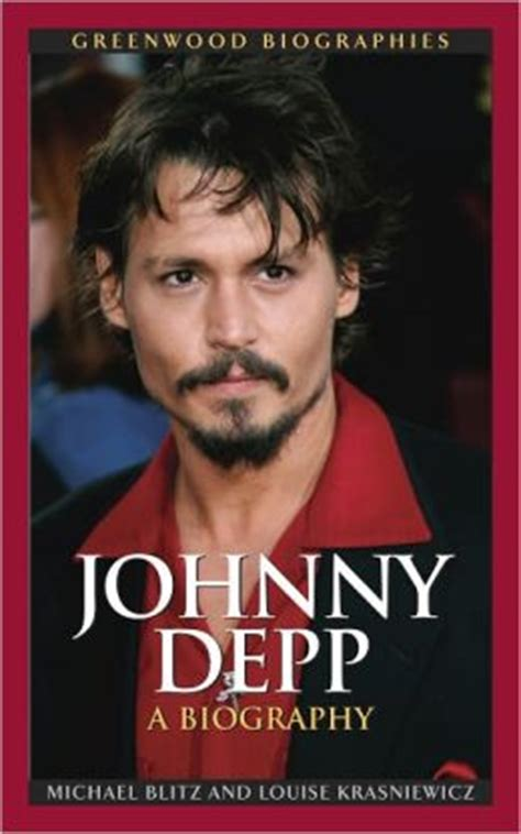 Johnny Depp Biography Book | johnny depp a biography greenwood biographies series by