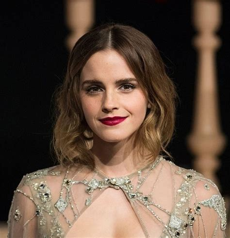 Emma Watson Natural Hair Color   More information