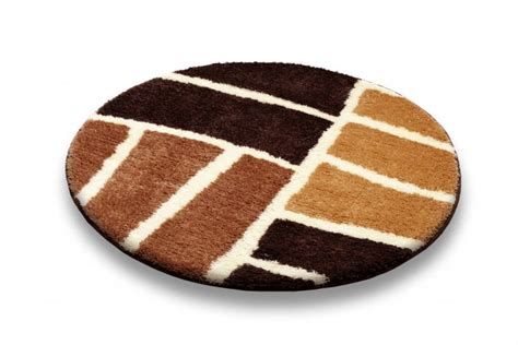 tappeto bagno moderno tappeti rotondi per bagno homehome