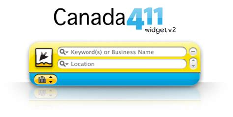 Canada411 Address Dashboardwidgets Showcase