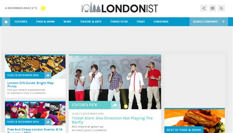 layout web online online magazine website layouts for design inspiration