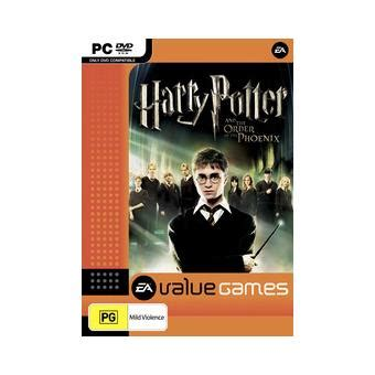 Harry Potter And The Order Of The Pc harry potter and the order of the value pc