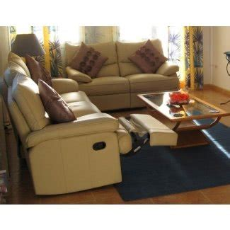 Sofa For Small Space Living Room by Small Sectional Sofa With Recliner Foter