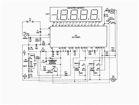 maxim digital resistor gt circuits gt single chip digital voltmeter l23568 next gr