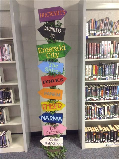 library decoration ideas 25 best ideas about library signs on pinterest school