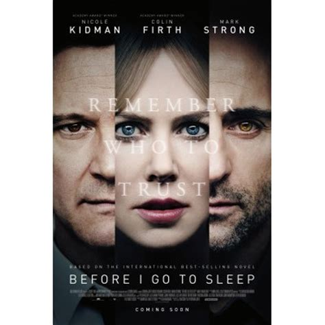 before i go to before i go to sleep movie poster internet movie poster awards gallery