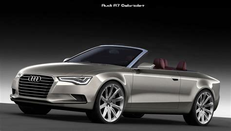 Audi A7 Cabrio by The Gallery For Gt Audi A7 Convertible
